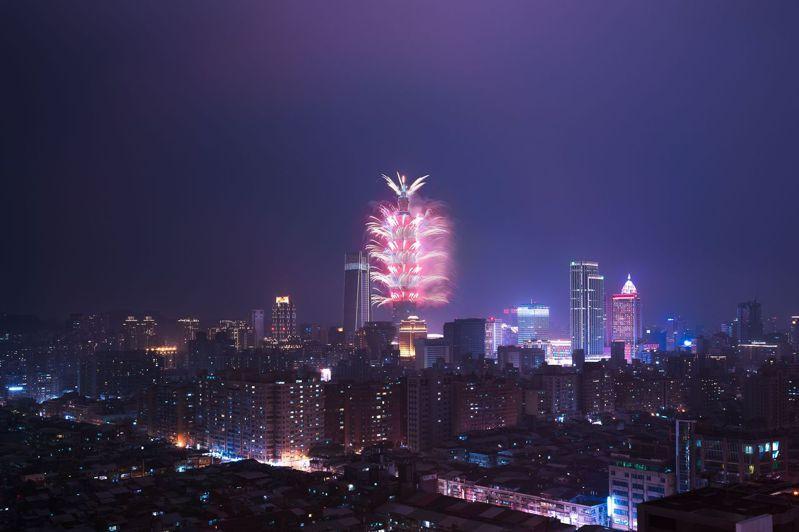 星級飯店釋出高樓層辦派對,觀看101煙火無死角。圖/台北松山意舍酒店提供