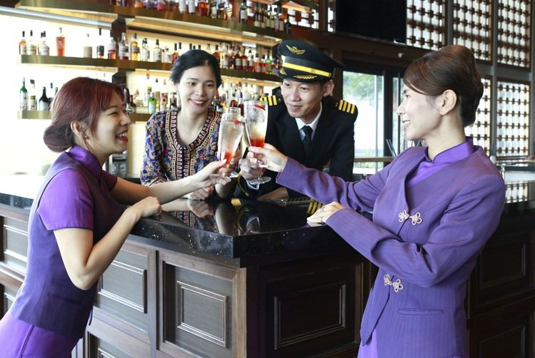 一秒出國去!裕元花園酒店舉辦偽出國的跨年派對。圖/裕元花園酒店提供