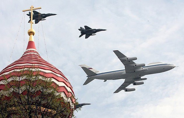 伊尔-80型飞机为俄罗斯四架「末日飞机」之一,一旦爆发全面战争,俄罗斯总统普亭会登上这种飞机,从空中对军队下达命令,包括发动核武攻击。。Mikhail Frolov(photo:UDN)
