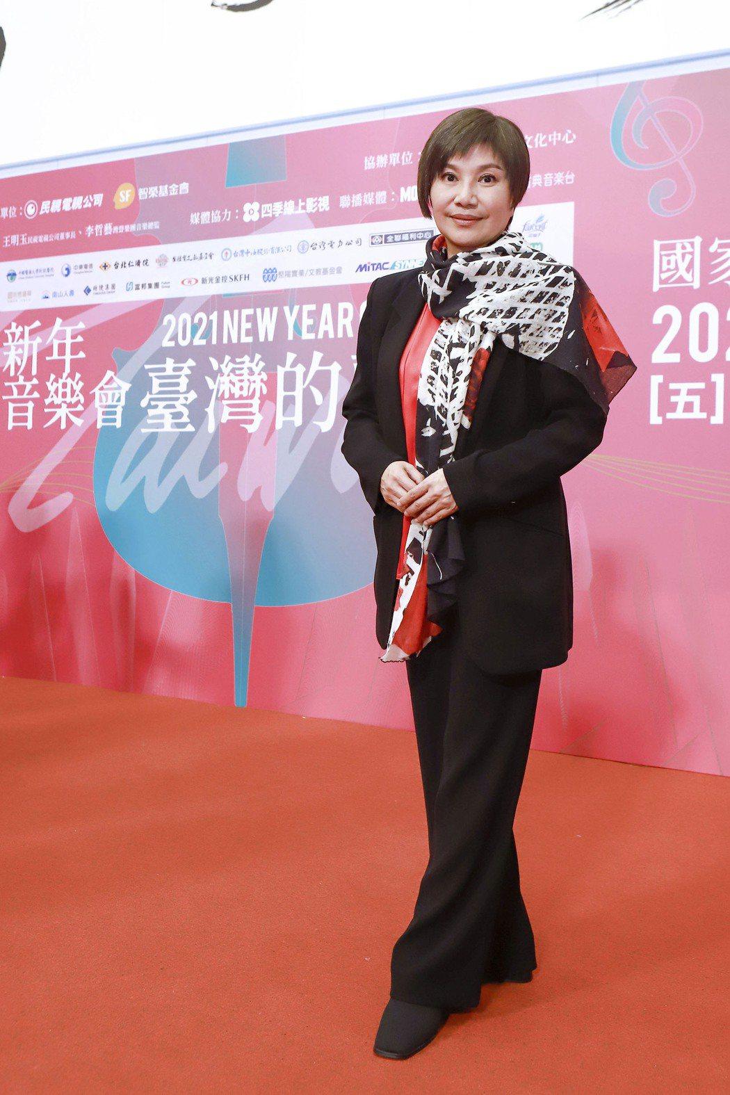 唐美雲連三年受邀在國家音樂廳演唱。圖/民視提供