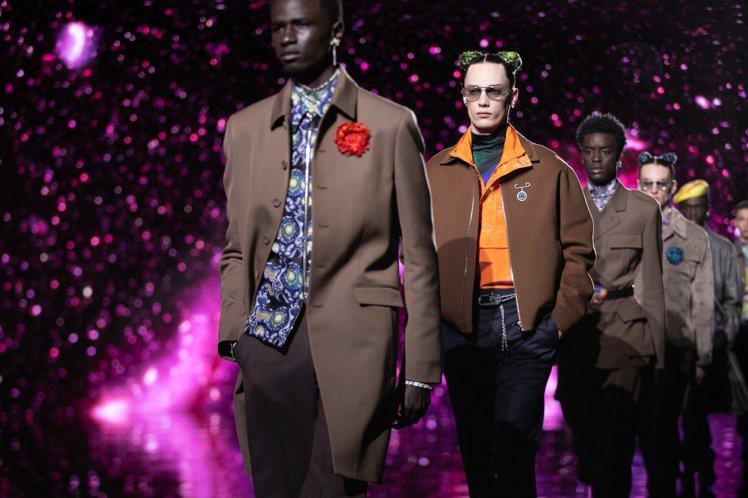 DIOR在以線上方式全球發表2021秋季男裝。圖/DIOR提供