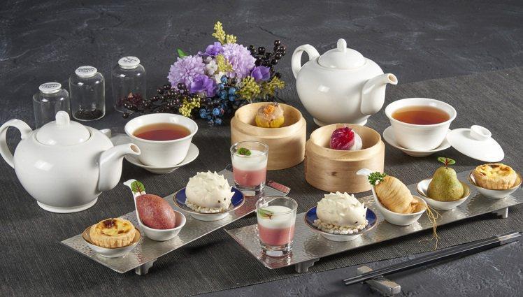 新葡苑46新推出觀、景2款下午茶套餐,各為680、480元。圖/新葡苑46提供