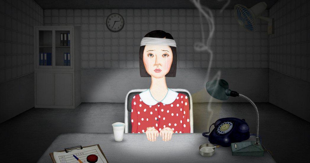 金馬獎最佳動畫短片「夜車」。圖/好威映象提供
