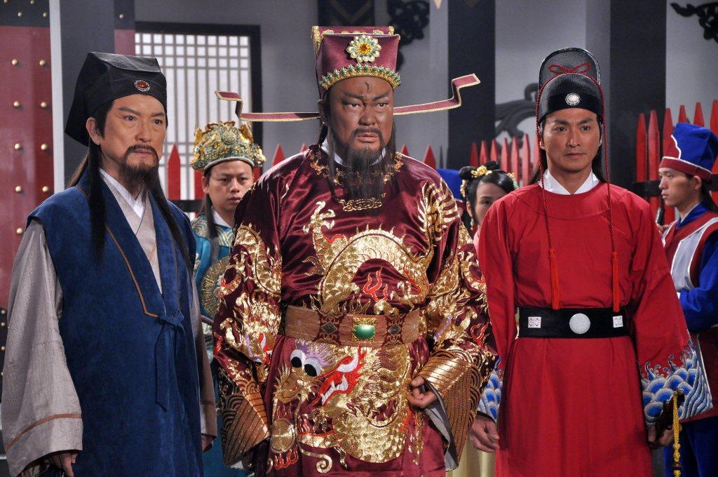 《包青天》(1993)劇照。 圖/華視提供