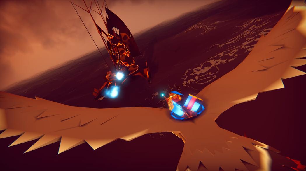 翱翔空中打爆敵人的感覺很爽快