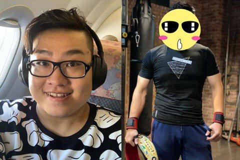 Youtuber頻道訂閱數突破200萬的Joeman,去年開始積極瘦身,除了常上健身房外,也開始飲食控制,先前光是短短3個月就瘦了12公斤,近日他再度曝光健身成果,只見他整個人宛如「筋肉人」,肌肉結...
