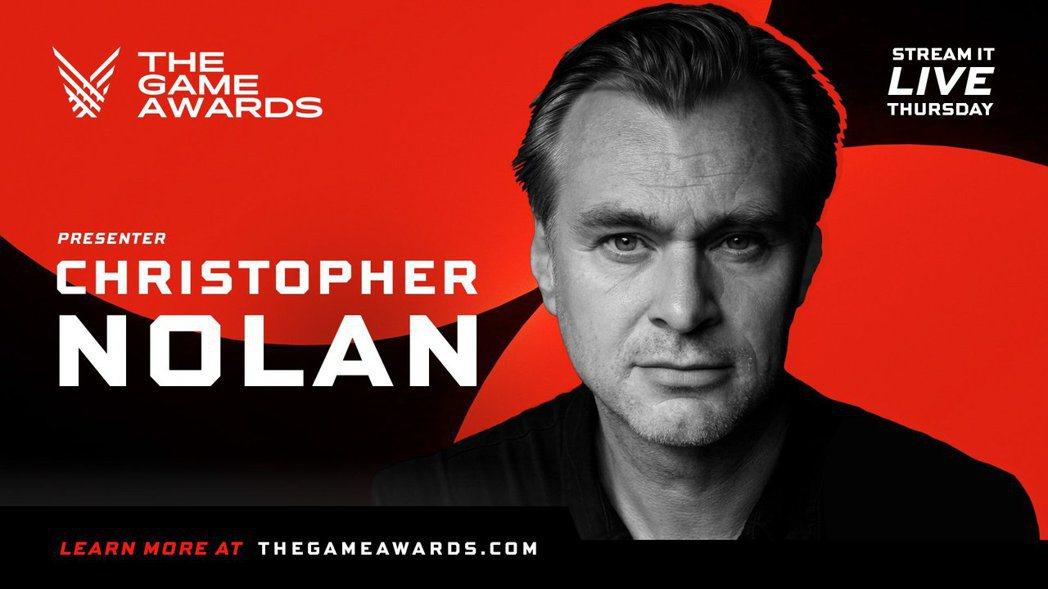 克里斯多福諾蘭 圖:The Game Awards