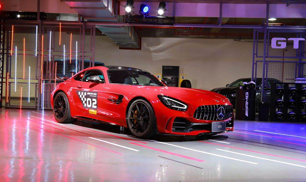 Mercedes-AMG GT R。 記者張振群/攝影