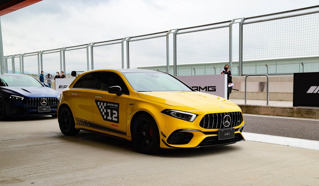 Mercedes-AMG A 45 S 4MATIC+。 記者張振群/攝影