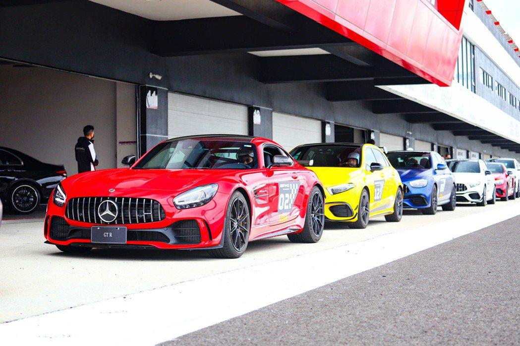 這次的賽道日能夠一次體驗多款AMG性能車型。 記者張振群/攝影