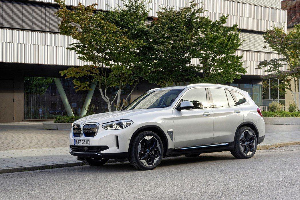 BMW iX3是品牌第一款純電動休旅。 摘自BMW