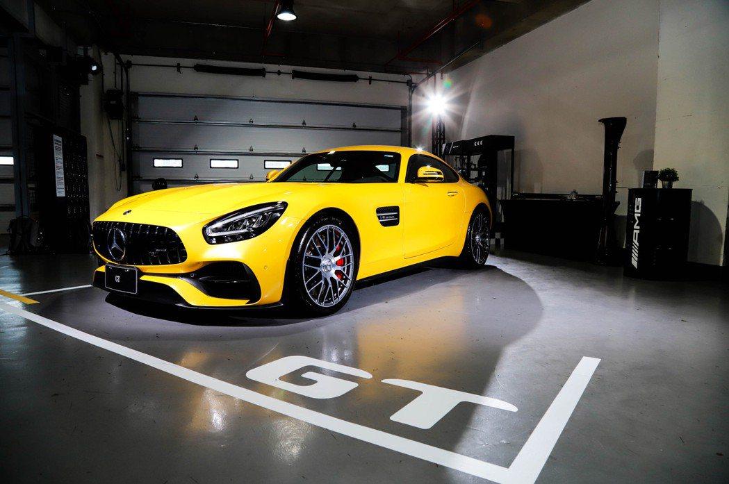 小改款Mercedes-AMG GT登台發表。 記者張振群/攝影