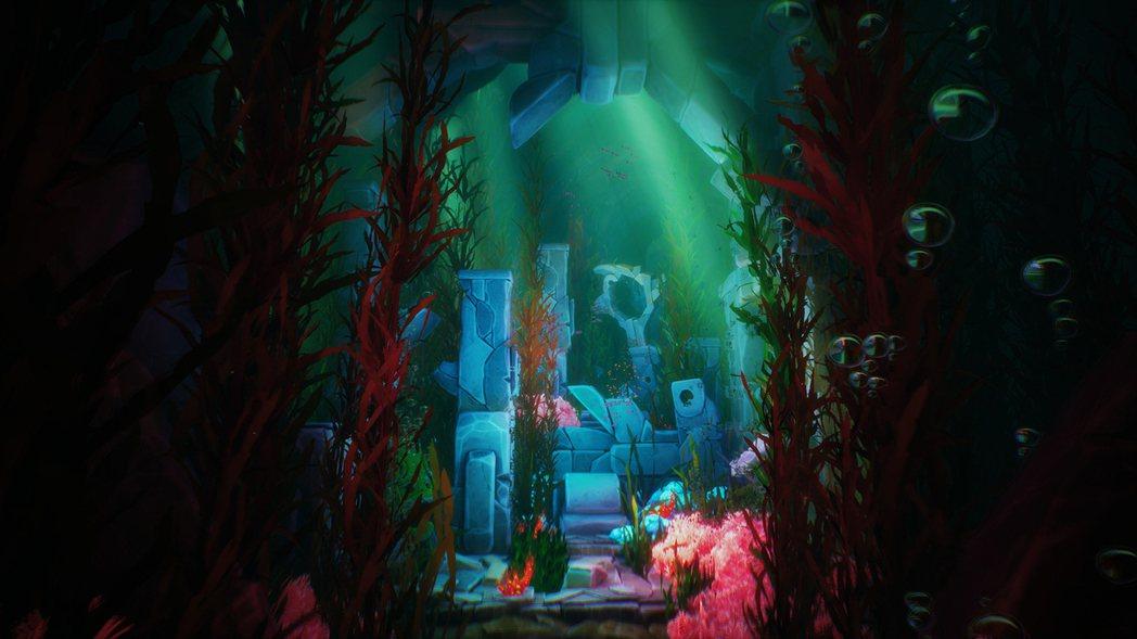自身異常的變化,處在海底的自由驚奇感,讓諾拉差點忘了此行的目的。