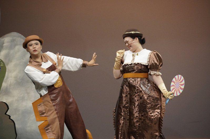 《糖果森林歷險記》是蘋果劇團的新編音樂冒險歌舞劇。圖/蘋果劇團提供