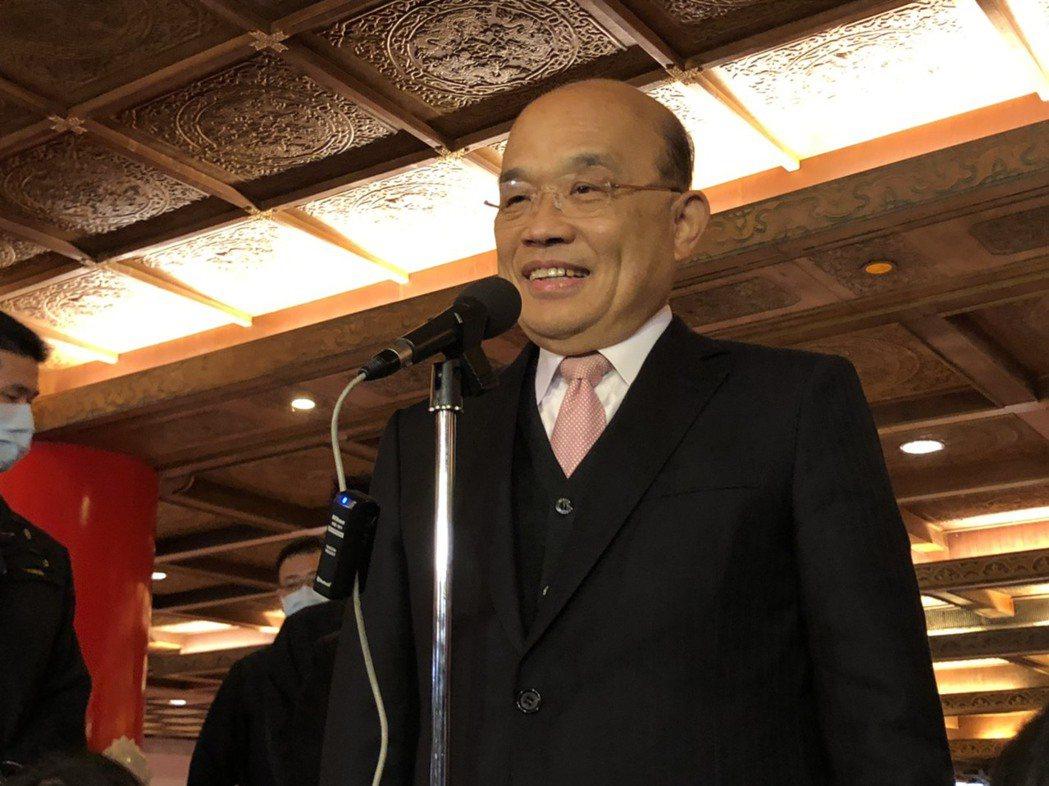 行政院長蘇貞昌。報系資料照片