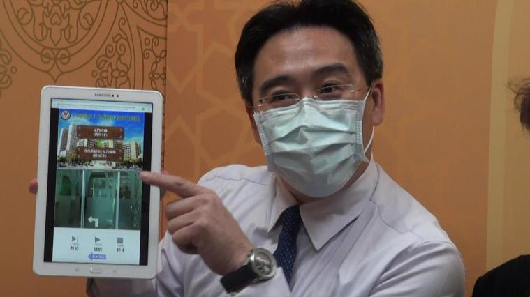 高醫開發能提供30國語言翻譯服務的APP,提供穆斯林民眾使用。記者王昭月/攝影