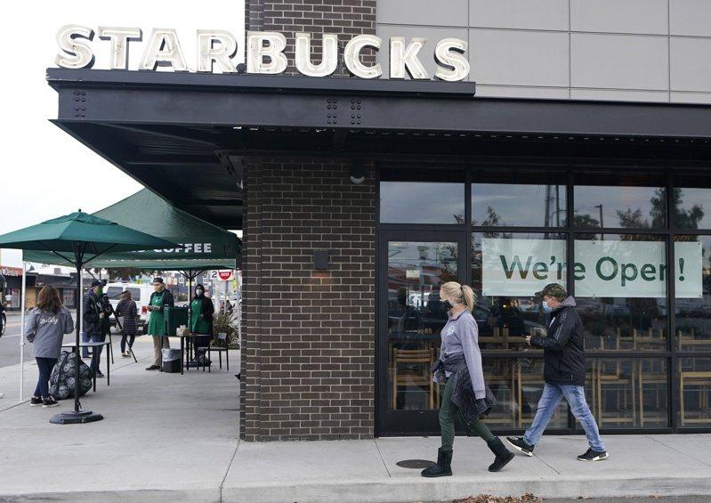 星巴克擬未來新開2萬多家店。美聯社
