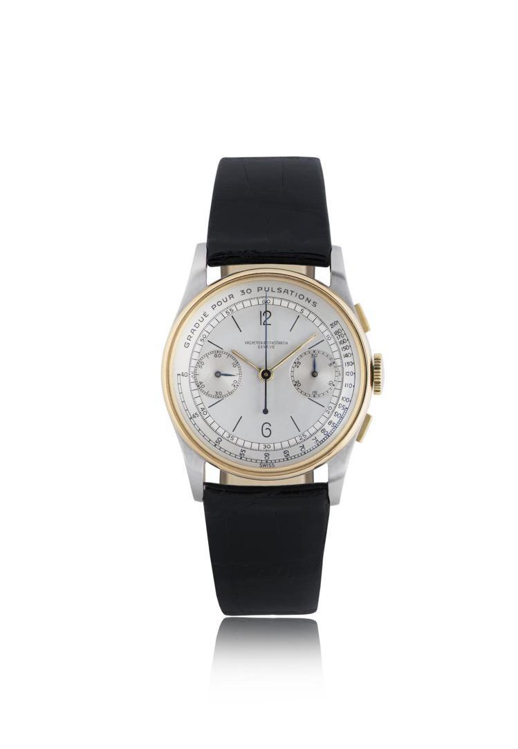 生產於1947年、編號Ref.4072的計時碼表,當年僅生產30只,是拍賣會的熱...