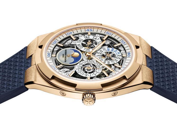 今日江詩丹頓Overseas腕表的誕生,源自兩枚古董時計的靈感總和。圖 / 江詩...