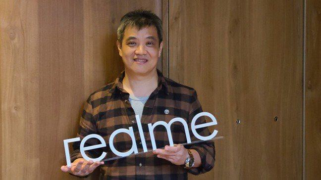 realme台灣市場商務長鍾湘偉。   記者何佩儒/攝影