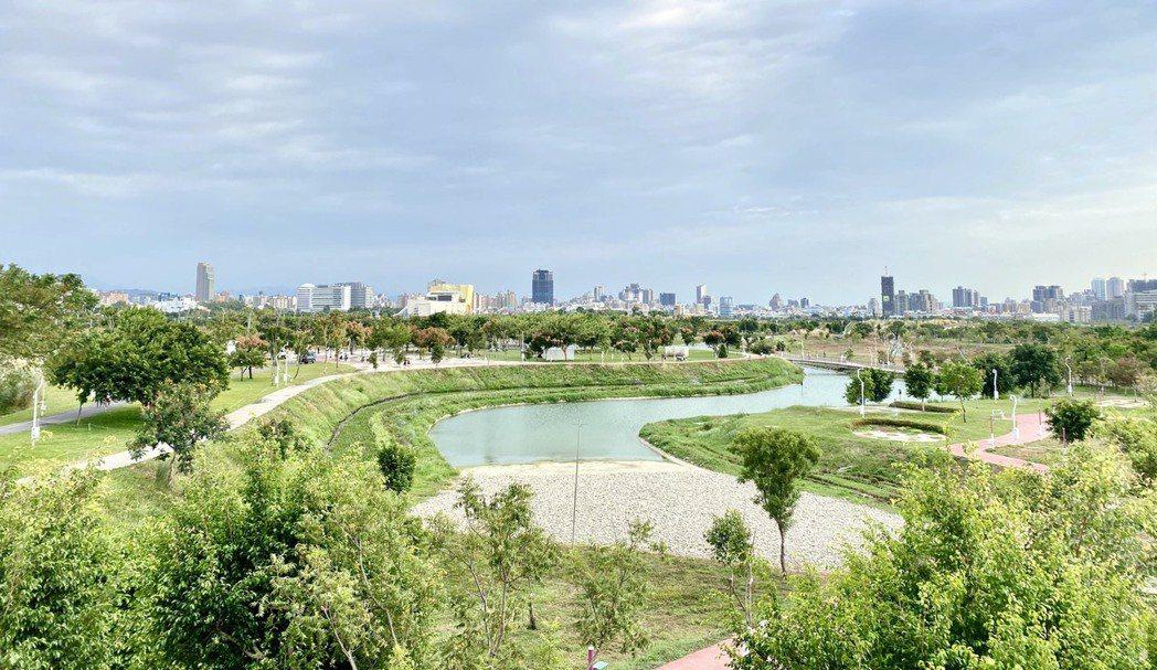 台中水湳經貿園區占地67公頃的中央公園於日前啟用。記者宋健生/攝影