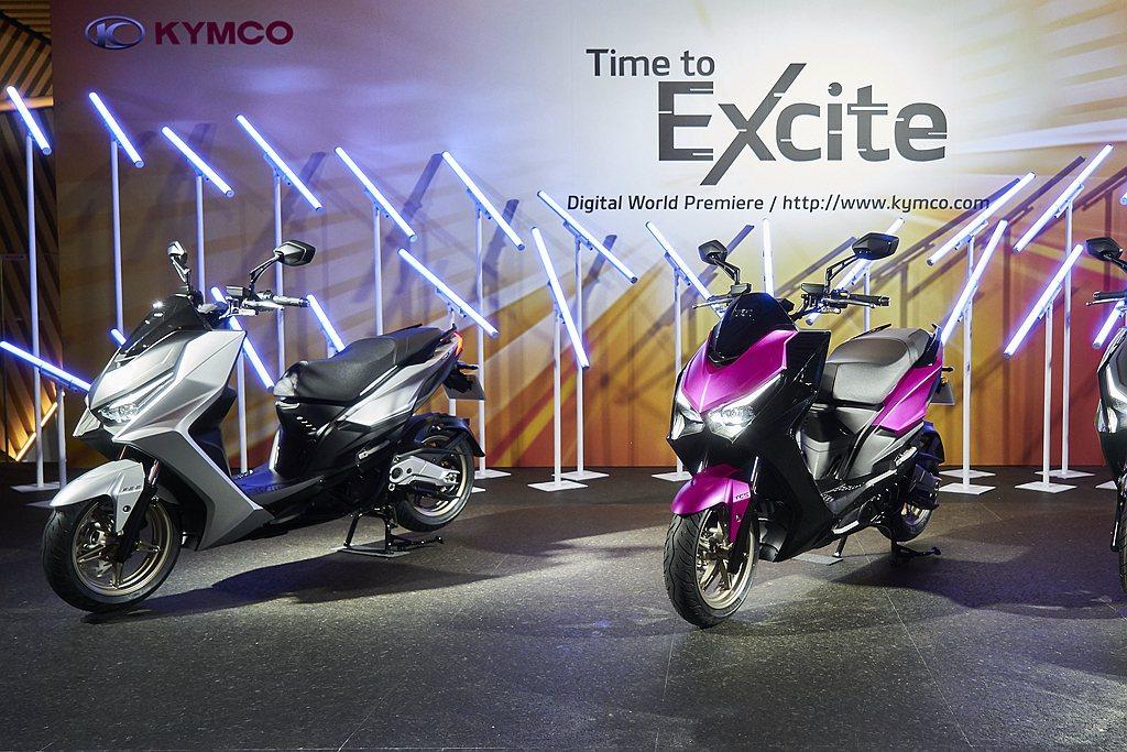 KYMCO KVR售價公布,將有ABS、TCS兩種車型可選。 圖/KYMCO提供