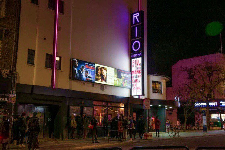 第二屆英國北歐台灣影展於倫敦Rio電影院登場。 圖/作者提供