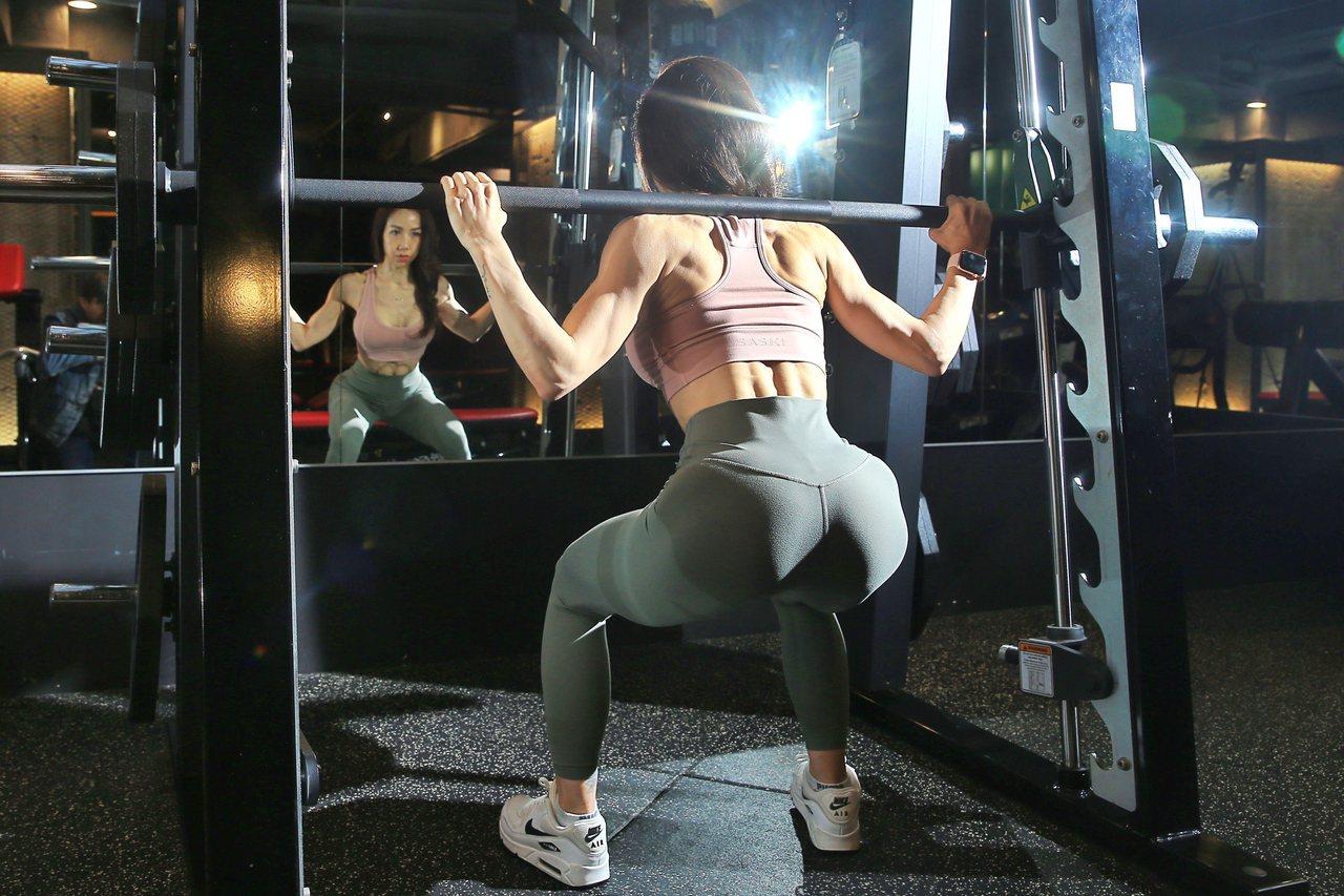 李宜玲強調,重訓絕對不是年輕人的運動。記者林伯東/攝影