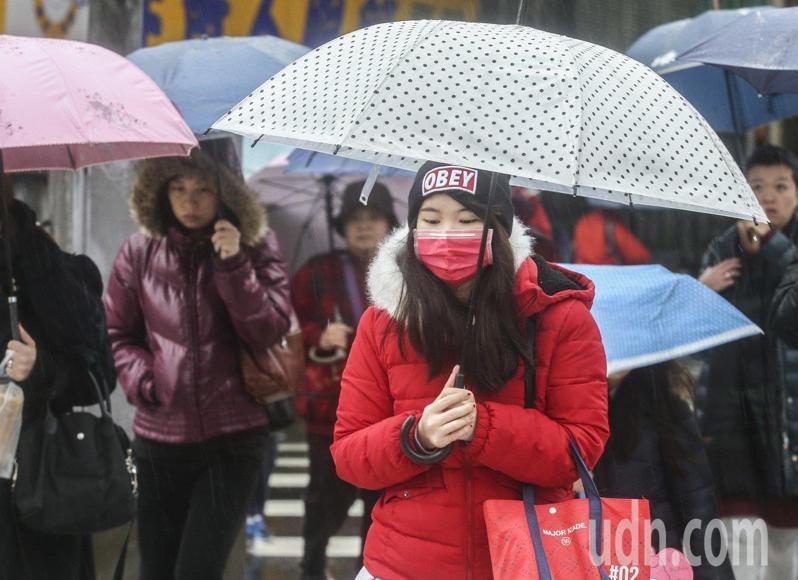 下周一至下周四東北季風進一步增強,各地感受更涼。本報資料照片