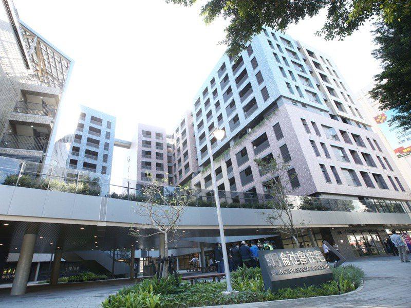 台北市明倫社宅租金過高,連日來成為政壇話題。圖/聯合報系資料照片