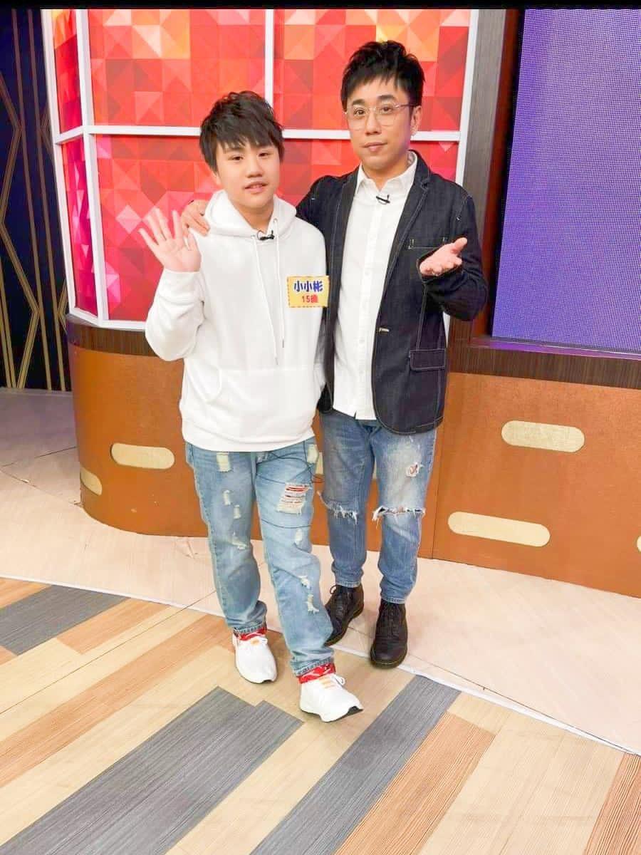 小小彬(左)和小彬彬十年來首度同台。圖/溫兆宇提供