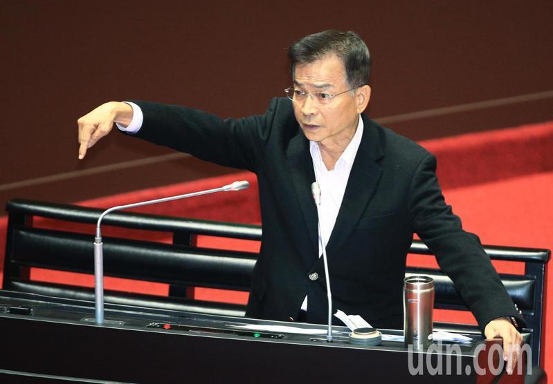 國民黨立委賴士葆(圖)。記者陳正興/攝影