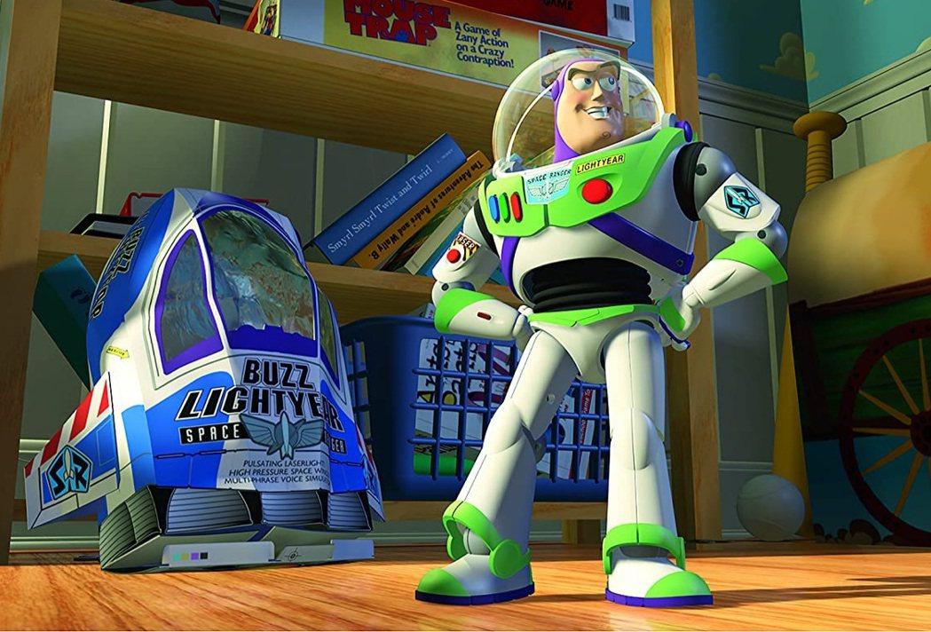 「玩具總動員」中的巴斯光年只是玩具,真正的巴斯光年另有其人。圖/摘自imdb