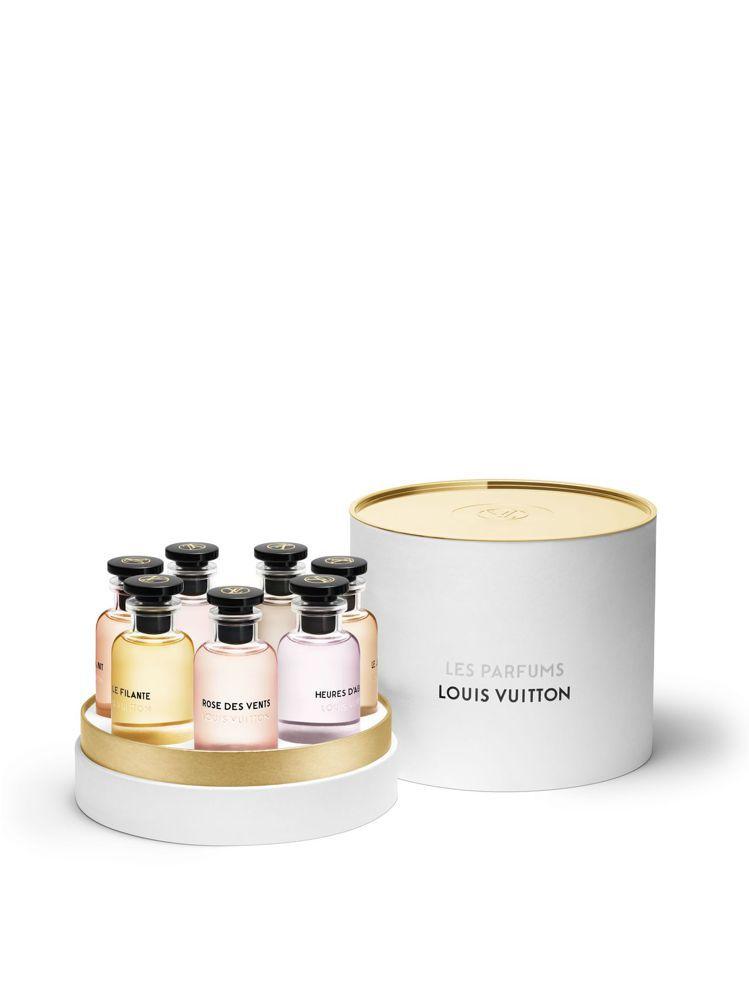 路易威登迷你香水套裝(包括7瓶10ml迷你裝香水),11,500元。圖/LV提供