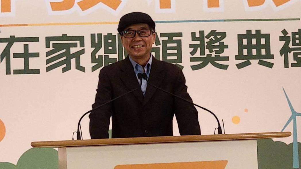 聯發科董事長蔡明介出席智在家鄉數位社會創新競賽頒獎典禮。記者鐘惠玲/攝影