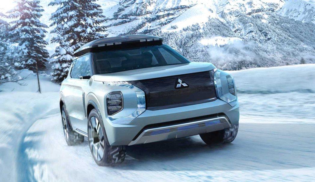 Mitsubishi Engelberg Tourer Concept。 摘自M...