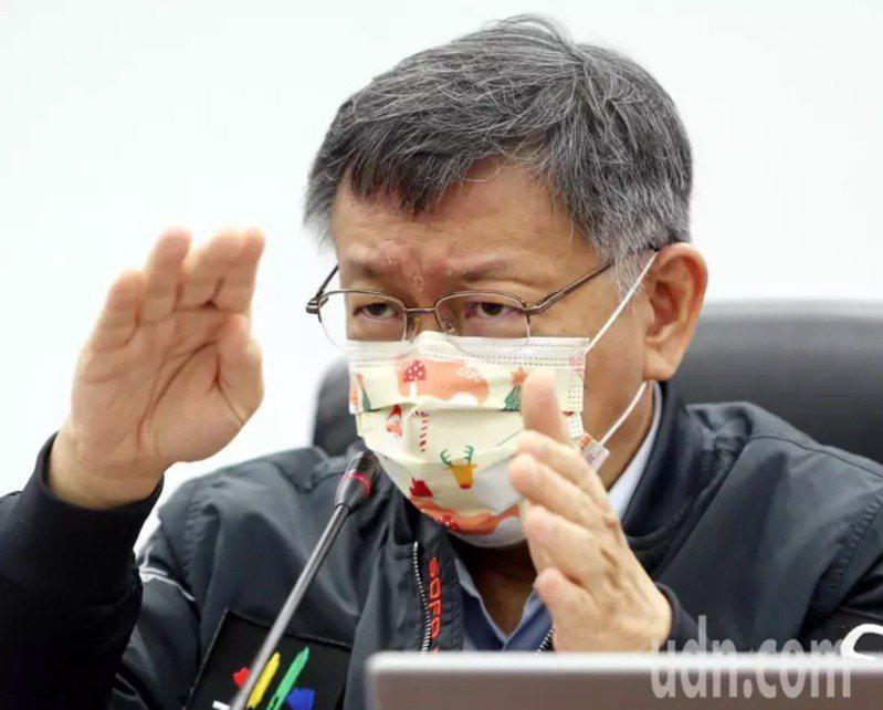 台北市長柯文哲。 圖/聯合報系資料照