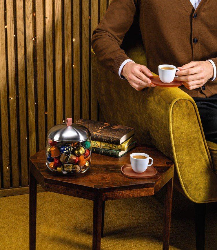 全新LUME Mia膠囊展示盒(售價1080元)。圖/Nespresso提供