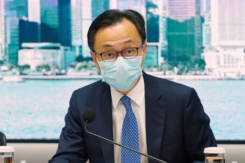 香港特區政府公務員事務局局長聶德權。 中新社資料照片