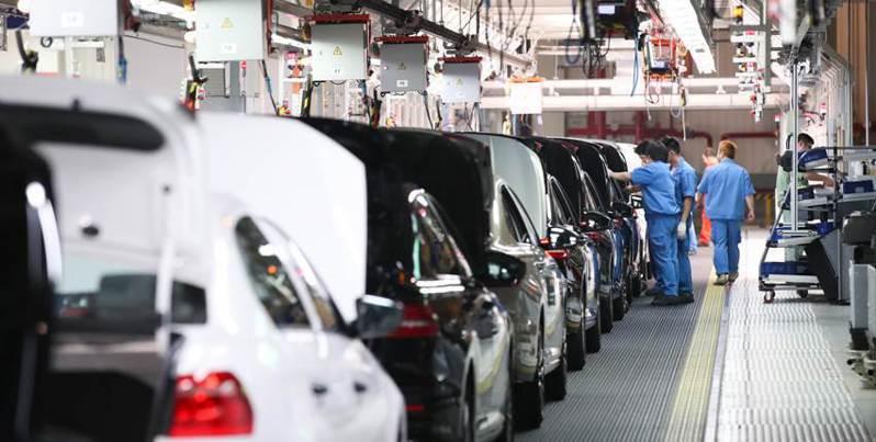 中汽協預計,今年大陸汽車總銷量將達2,530萬輛,年減2%左右。新華社資料照片