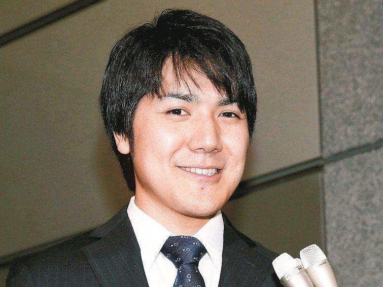 日本真子公主的未婚夫小室圭表示將「有所動作」。法新社
