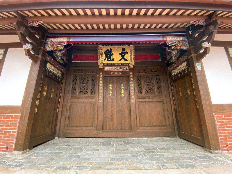 傳藝中心內的黃舉人宅,投入600萬經費「復舊」,呈現百年老宅當年建成模樣。圖/全聯善美的文化藝術基金會提供