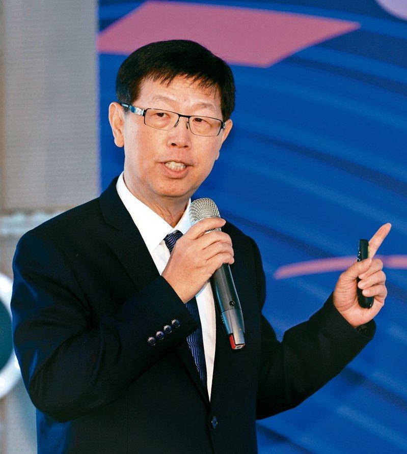 鴻海董事長劉揚偉。記者曾吉松/攝影