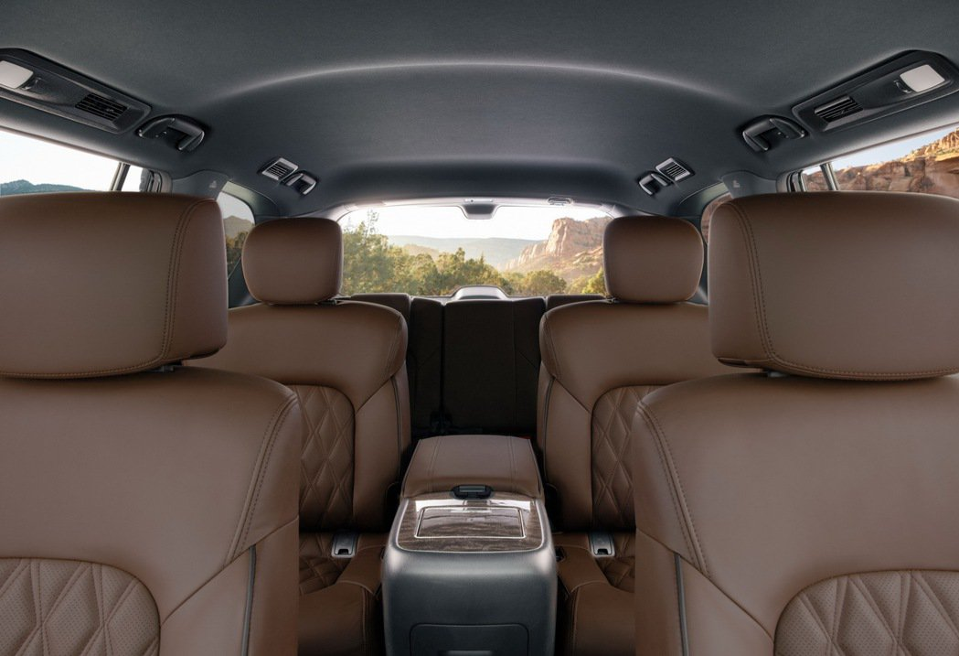 8人座的設計還可選配後排獨立座椅套件。 圖/Nissan提供