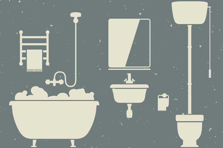 浴廁的清潔重點 圖/ingimage