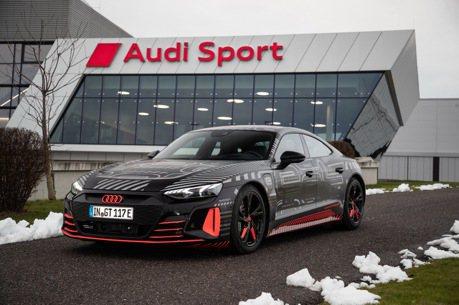 Audi純電四門轎跑e-tron GT正式量產 連生產工廠都超環保!