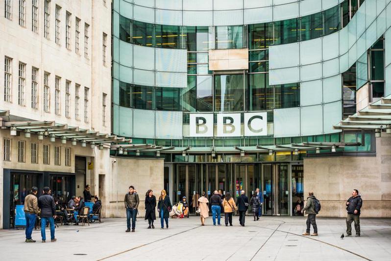 為了順應串流時代來臨,英國廣播公司(BBC)將進行組織改造精簡化。(網路截圖)