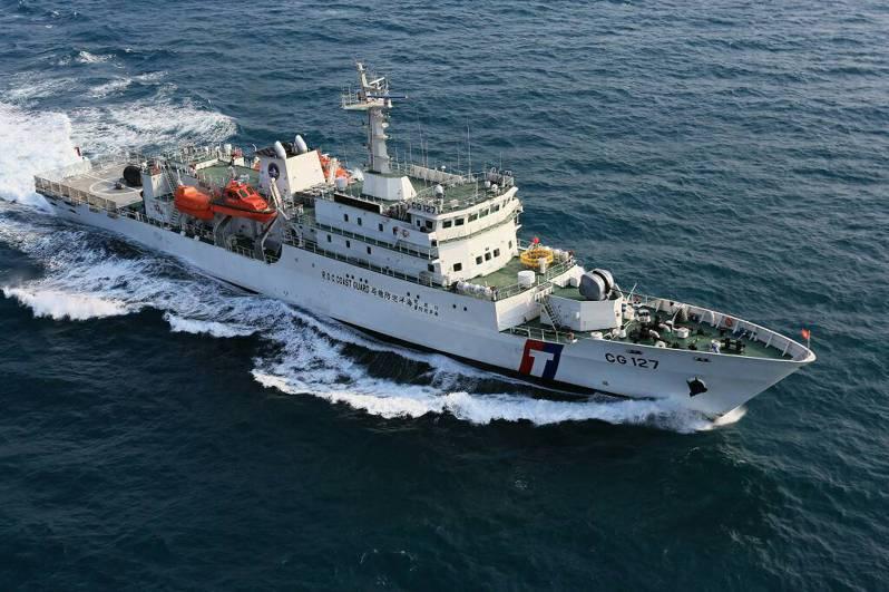 過往台船標到海軍造艦工程,總有民間廠商抱怨,但是這次救難艦招標,因為沒利潤,民間廠商根本不來投標。圖為台船生產海巡署2000噸級巡防救難艦的新北艦。圖/台船提供
