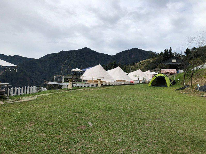 中市府組成露營輔導小組,以實地訪查方式,進行輔導合法化。圖/中市府觀旅局提供