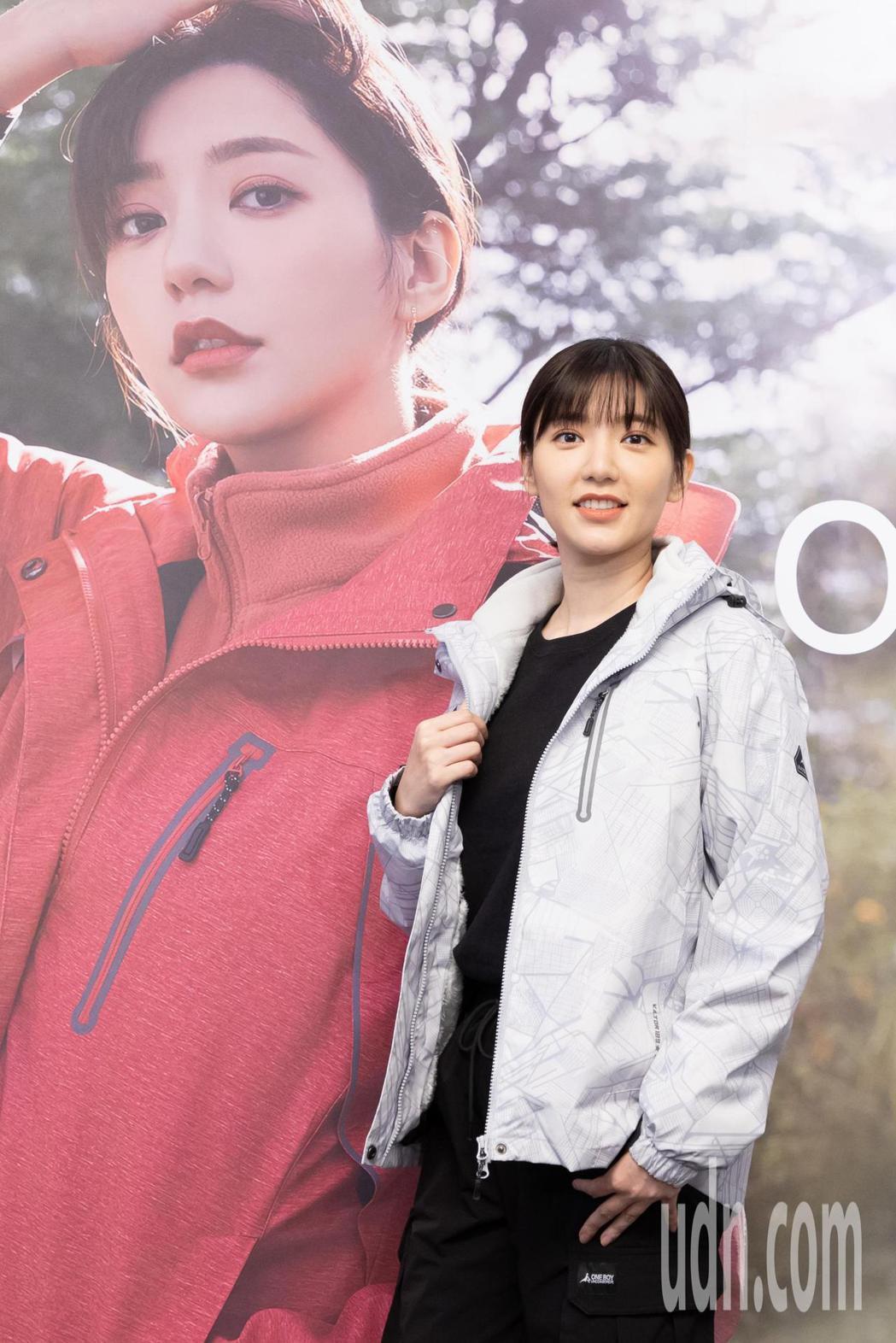 藝人郭雪芙今天出席服飾品牌一日店長活動。記者季相儒/攝影